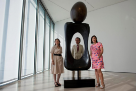 Presentación del acuerdo entre el Centro Botín y el Ayuntamiento de Santander con los herederos de Joan Miró