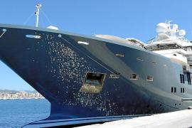 El 'Andrómeda', un yate de 250 millones, en Palma