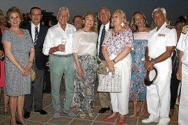fiesta del carmen en base naval porto pí