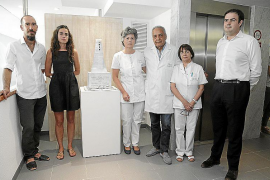 Homenaje a Antonio Riera en el Institut Oftálmic de Mallorca