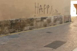 Vandalismo contra la iglesia de Santa Eulàlia
