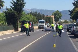 Fallece un policía local en un accidente de tráfico en la carretera de Sóller
