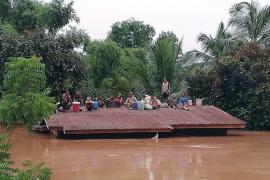 Varios muertos y cientos de desaparecidos al derrumbarse una presa en Laos