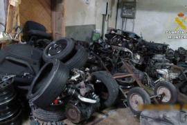 Cuatro detenidos y tres investigados tras una operación contra talleres mecánicos ilegales en Baleares