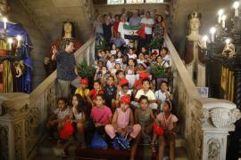 El Ayuntamiento de Palma y el Consell de Mallorca reciben a los niños saharauis