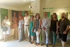 El colegio Bisbe Verger cede a la Fundació Mallorca Literària el manuscrito 'Oficis de Carrer' de Blai Bonet