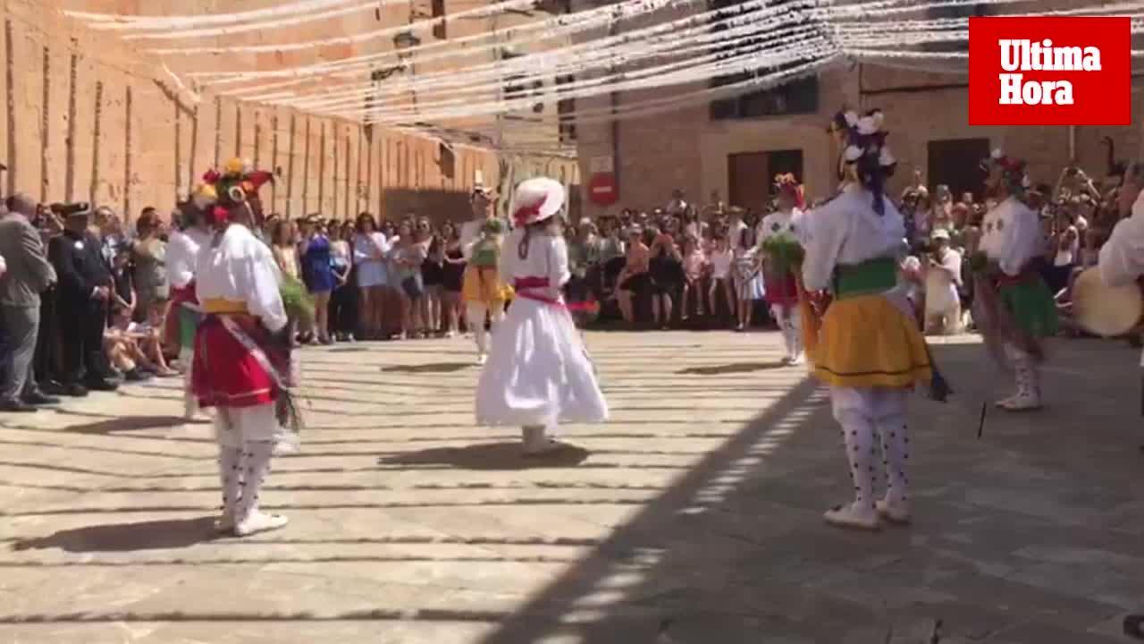 Algaida celebra el día de Sant Jaume con la danza de los Cossiers