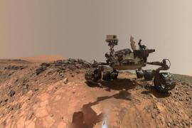 Descubierto un lago de agua líquida y salada en Marte, bajo una capa de hielo