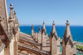 Las terrazas de la Catedral de Mallorca, abiertas al público