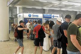 La cancelación masiva de vuelos de Ryanair afecta a más de 22.000 pasajeros en Baleares