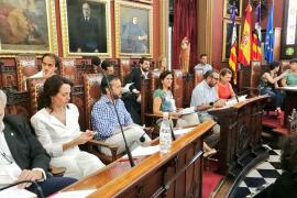 El pleno del Ayuntamiento de Palma aprueba la ordenanza reguladora del botellón