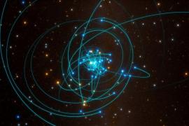 Confirman por primera vez la Teoría de la Relatividad de Einstein cerca de un agujero negro supermasivo