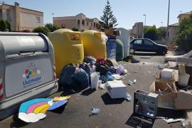 La vecinos de las urbanizaciones de Llucmajor denuncian la falta de limpieza