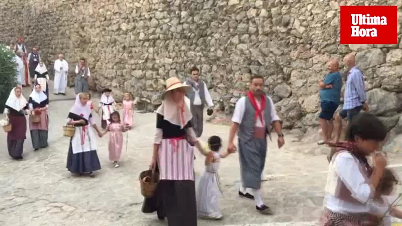 La procesión de la reliquia de la Beata, la más sentida de Valldemossa