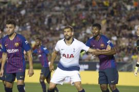 La 'cara B' del Barcelona debuta con victoria en los penaltis ante el Tottenham