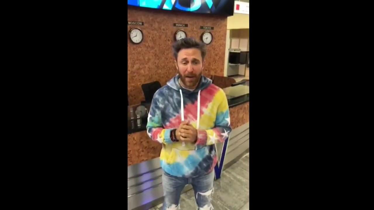 David Guetta pide disculpas en vídeo tras cancelar su concierto en Santander