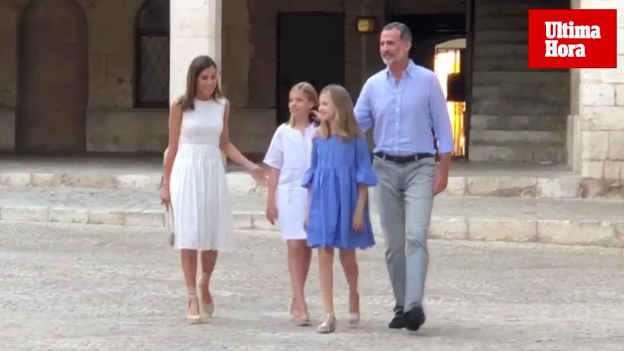 El posado más difícil de los Reyes en Mallorca
