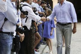 Felipe VI, sobre el rey Juan Carlos: «Está fastidiado, tenía muchas ganas de venir»
