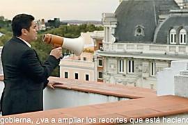 Guerra de vídeos entre PSOE y PP