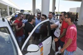 Los taxistas de Mallorca realizarán una huelga parcial este martes
