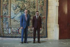 Noguera pide al Rey que el Gobierno ayude a reformar la Playa de Palma