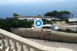 Decenas de coches colapsan la vía al faro de Formentor y obligan a suspender el servicio del bus