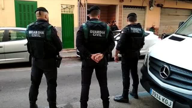 Gran operación antidroga en Palma y Sencelles
