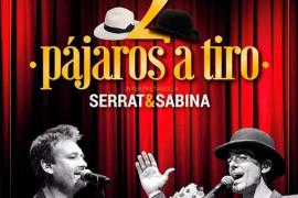 El tributo a Serrat y Sabina 'Dos pájaros a tiro', en el Castell de Son Mas