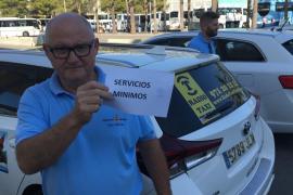 Los taxis paran contra las VTC