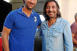 Carlos Moyá y Antonio Carmona.