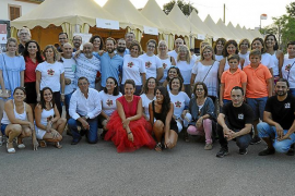 Música y solidaridad en el Concert de la Lluna a ses Vinyes