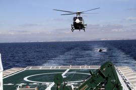 La unidad de élite de la Guardia Civil se curte en aguas de Mallorca