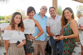 Paula Toro, Caty Vizcarra, Luis Coll,Joan Riera y Mercedes Serrano.
