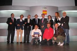 'Gaceta Náutica' y Javier Sanz, premiados en Madrid
