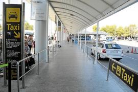 Los taxistas de Mallorca dejaron de ingresar 200.000 euros por la huelga