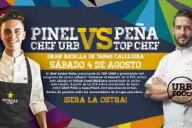 Batalla de chefs en Urban Food: Chef Peña vs Juan Pinel