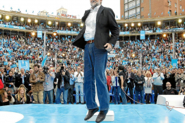 Rajoy: «Creo que vamos a ganar las elecciones; es más, lo creo y lo digo»