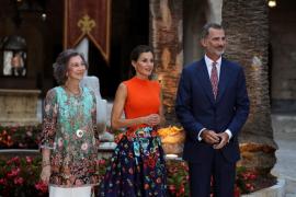 La Casa Real recibe a la sociedad balear