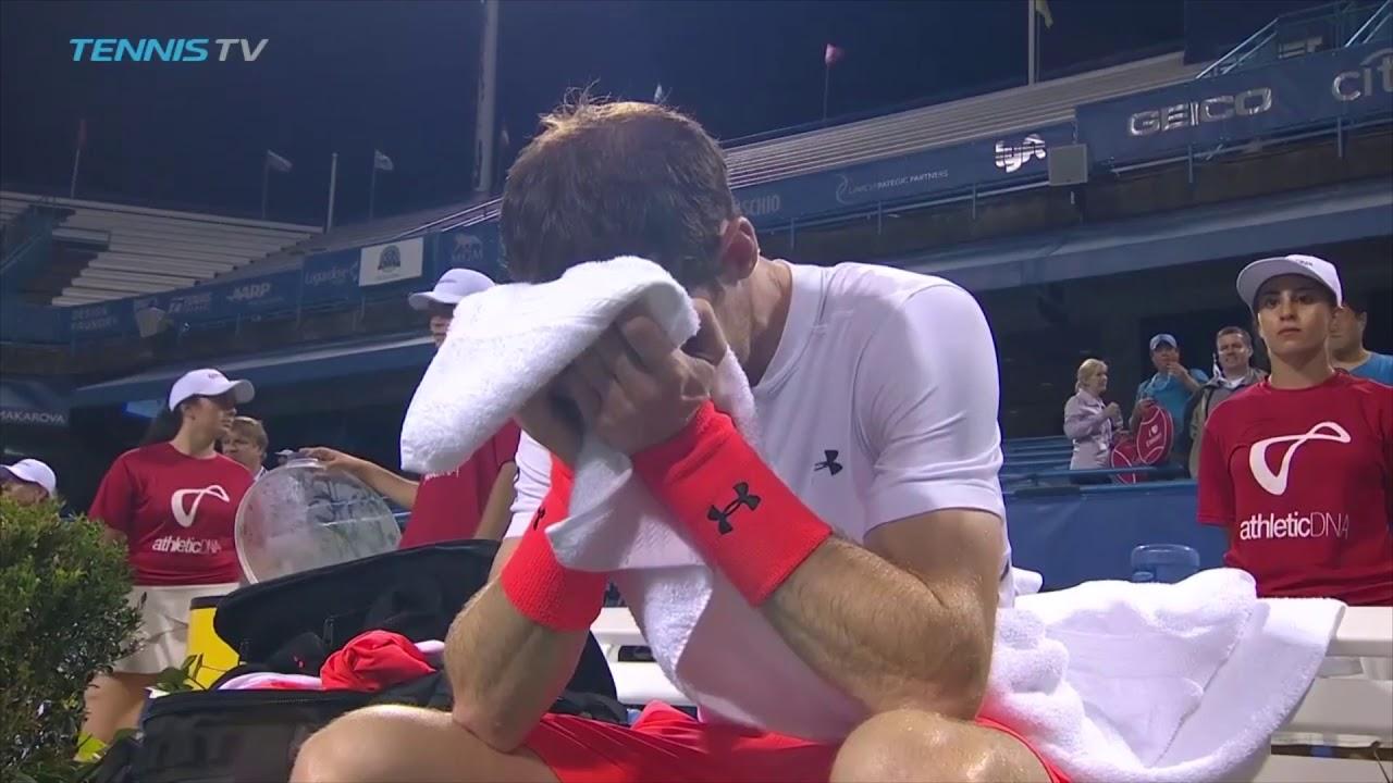 Andy Murray rompe a llorar tras un partido que terminó a las tres de la madrugada