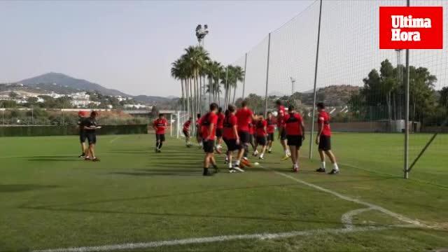 El Mallorca intensifica el trabajo