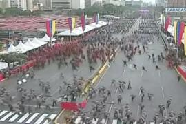 Siete heridos en un atentado contra Nicolás Maduro