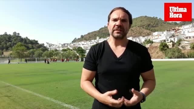 El Mallorca se prepara para el partido ante el Cádiz