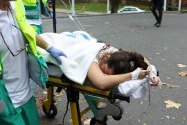 Un joven mata a navajazos a un transeúnte y hiere a otros seis en Bilbao