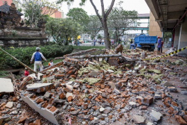 La tierra tiembla en Indonesia con consecuencias dramáticas