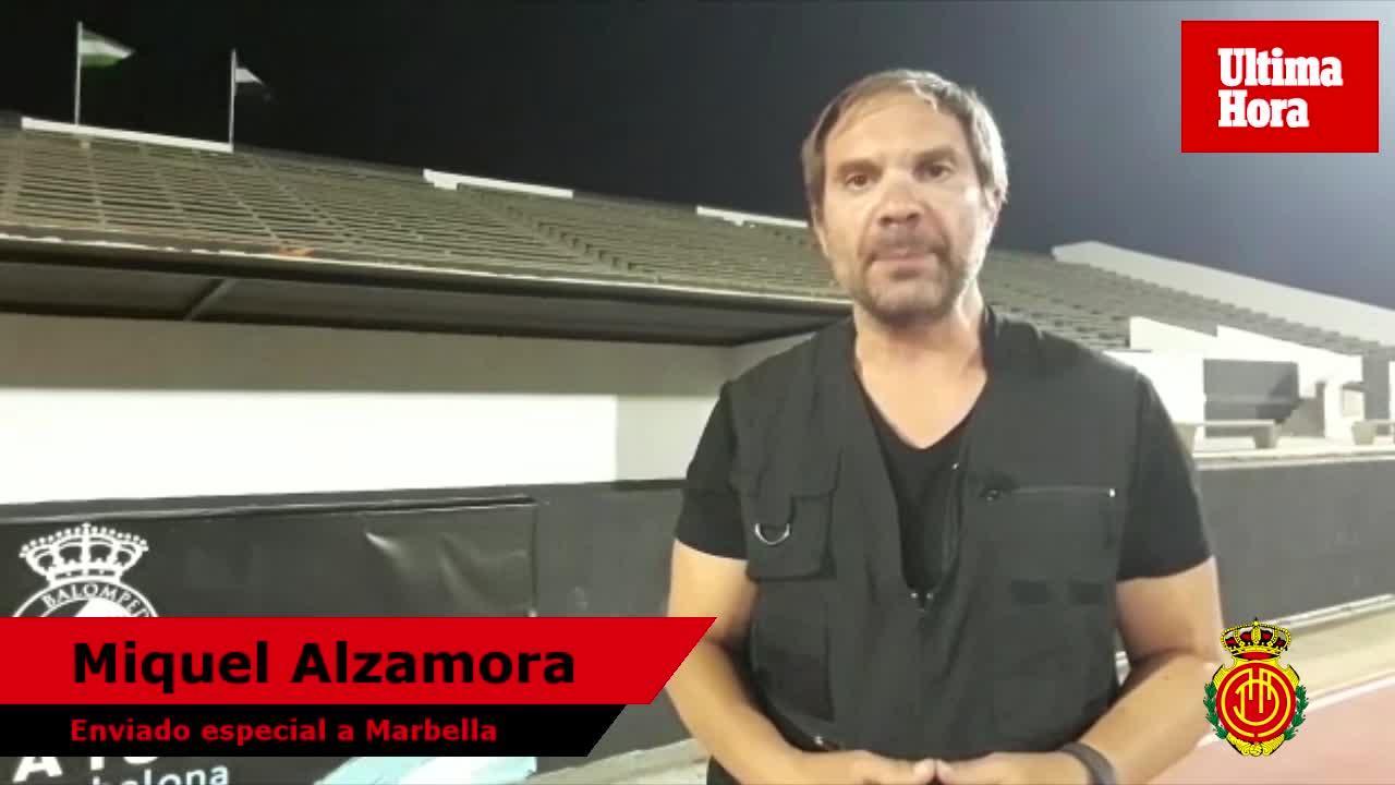 Miquel Alzamora: «El Mallorca cae ante el Cádiz por errores propios»