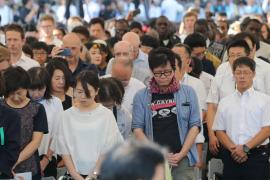 Hiroshima recuerda el ataque nuclear alertando de los riesgos actuales