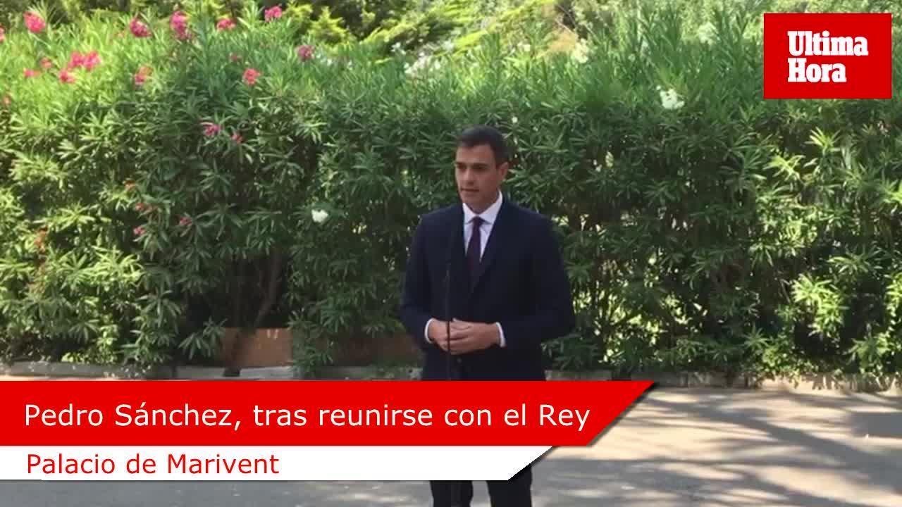 Sánchez, tras reunirse con el Rey: «Aprobaremos el nuevo REB más pronto que tarde»