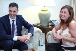Sánchez y Armengol se comprometen a trabajar para tener listo el nuevo REB en enero de 2019