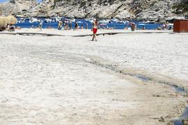 Sant Josep investiga el origen de un nuevo vertido de aguas residuales en Cala Vedella