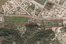 Denuncian el proyecto de construcción de una treintena de chalets de lujo en Valldemossa